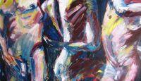 Stretcher_I_-_Ausstellung_der__weibliche_Blick_auf_den_Körper_des_Mannes